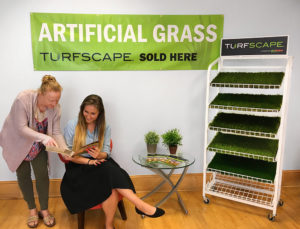 Turfscape Dealer Display