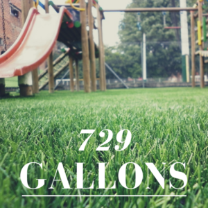 729 Gallons