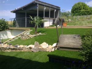 Synthetic Turf Landscape Application