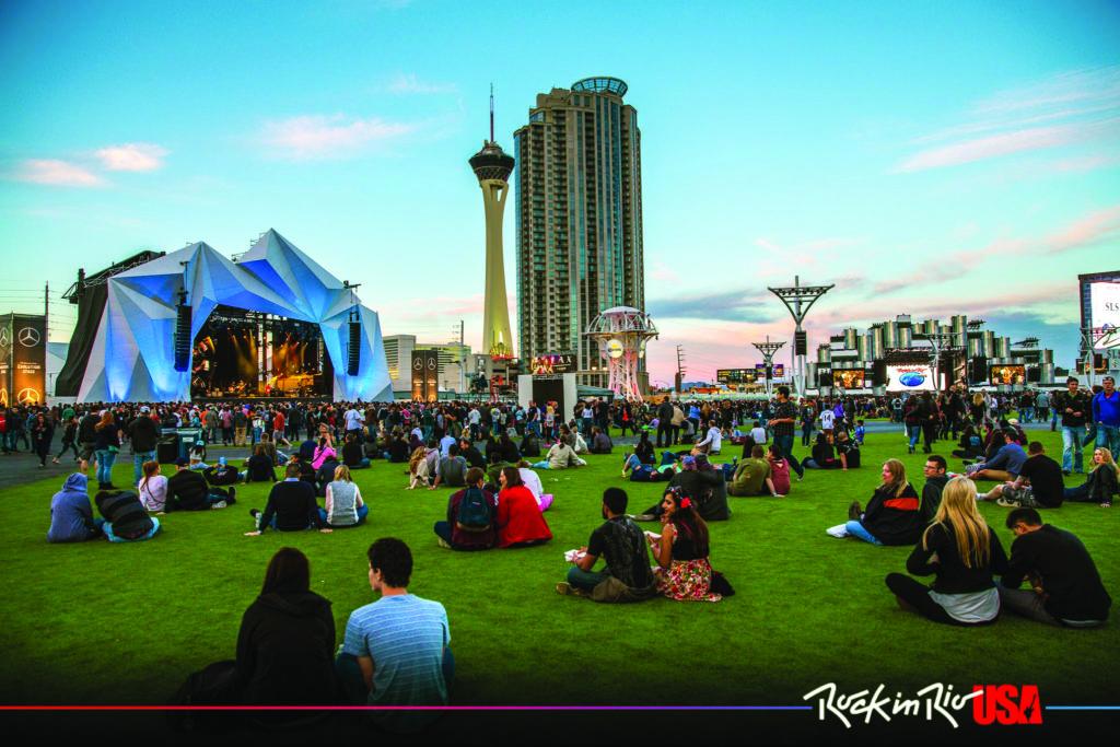 Turfscape Install - Rock In Rio Festival - Las Vegas, NV
